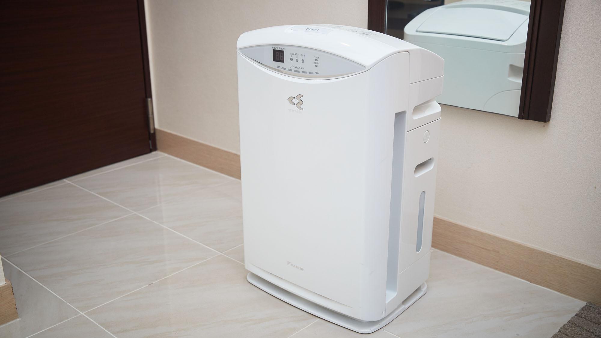 【客室設備】空気清浄機