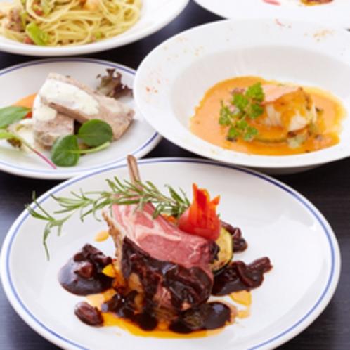 【ディナー/コース料理】季節とシェフのきまぐれで変わるコース料理