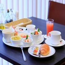 朝食(イタリアンプレート)