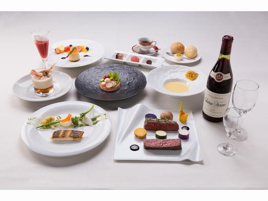 【ふらの和牛と富良野ワインのマリアージュ】〜特選デセールを添えて〜1泊2食付プラン