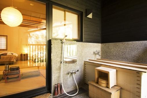 心和む檜の露天風呂付 京間6畳&ツイン特別和洋室【36平米】