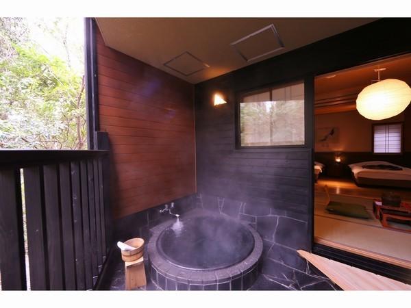 露天風呂付き和洋室1F