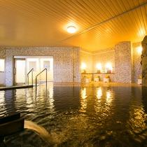 大浴場加水加温なしの源泉かけ流し温