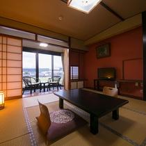 【和室一例】清潔感ある和室でゆっくりとお寛ぎください。