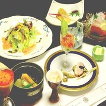 【*2食付プラン*夕食一例*】≪旬のお野菜たっぷり健康会席≫