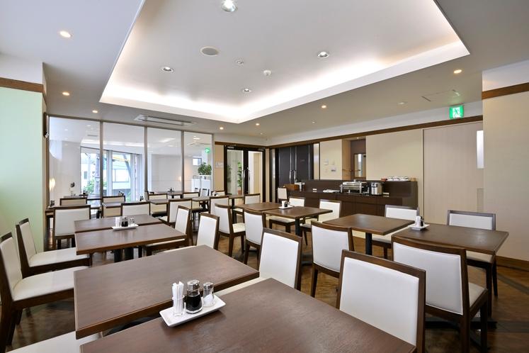 2階 朝食レストラン