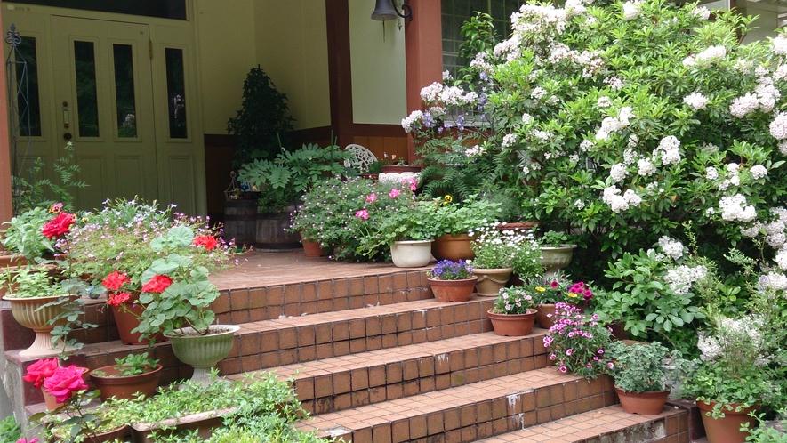 家玄関階段