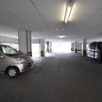 19台まで駐車できる無料駐車場