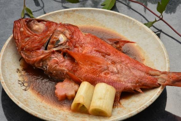 <1人に1個!選べる♪あわび(踊焼き or お造り)>&<金目鯛煮付>&<海鮮丼>プラン