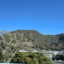 山側景色(一例)