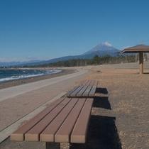 志下海岸 〜富士山〜