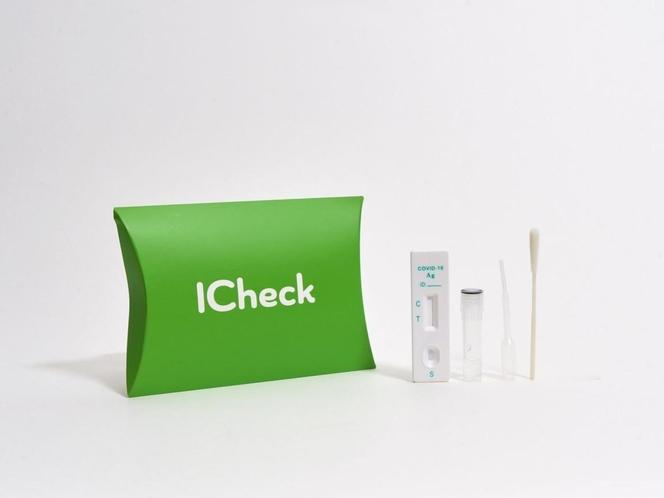 新型コロナウイルス抗原検査キット「ICheck」