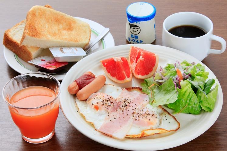 朝食 【洋定食】別料金¥850-
