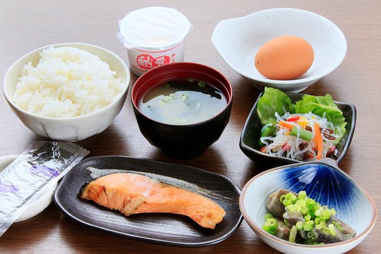 朝食 【和定食】別料金¥850-