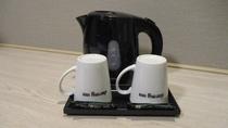 【客室】ポット&マグカップ