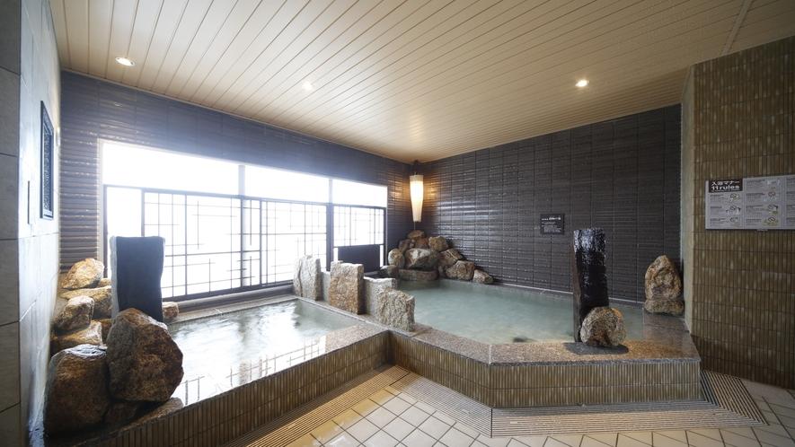 【女性大浴場】内湯・水風呂