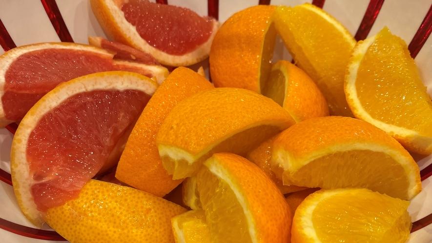 オレンジ&ピンクグレープフルーツ