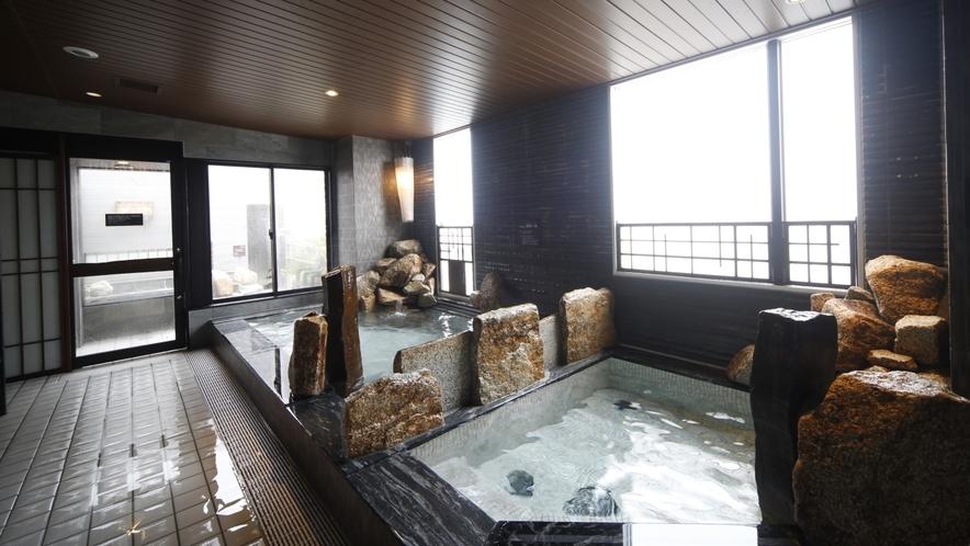 【男性大浴場】内湯・水風呂