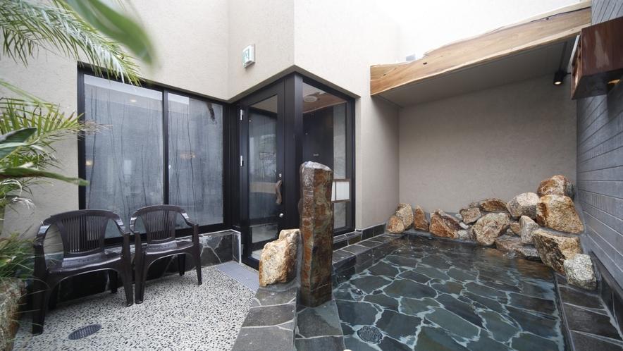 【男性大浴場】露天風呂
