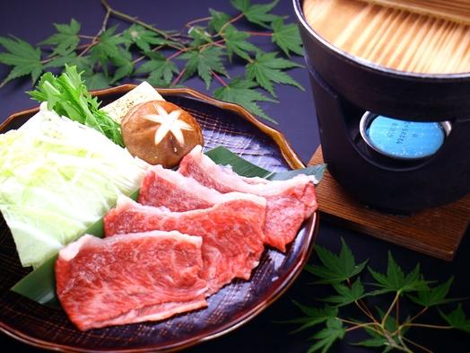 【すき焼き】宮崎県産牛をすき焼きで☆旨味が染み込んだお肉の味わいを「湯之元会席」と共に