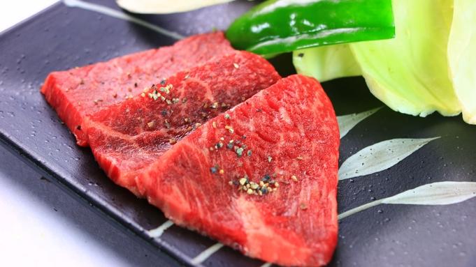 【ミディアムプラン】当宿一押し高級牛「宮崎牛」の中でも最上級「西諸牛」を岩塩プレートで美味しく味わう