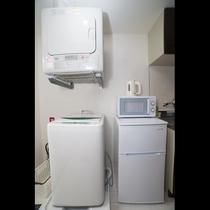 洗濯機・乾燥機・冷蔵庫・電子レンジ