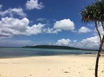 周辺ビーチ「ウッパマビーチ」