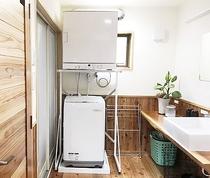 乾燥機と洗濯機