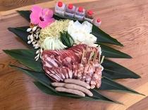 バーベキュー食材セット(有料)