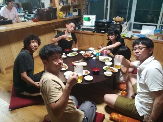 夕食共同調理(シェアごはん)プラン【軽朝食つき】