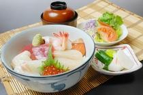 【レストラン福鶴亭】 海鮮丼