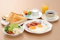【朝食】 洋食
