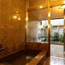 姉妹館の内湯と露天風呂【三国温泉】