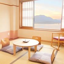 部屋 和室10畳 富士山・河口湖ビュー側