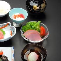【ご朝食の一例】和食のセットメニューです(2)
