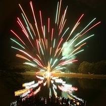 りんどう湖ファミリー牧場(花火)