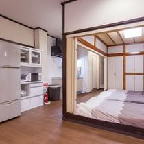 キッチンと和室