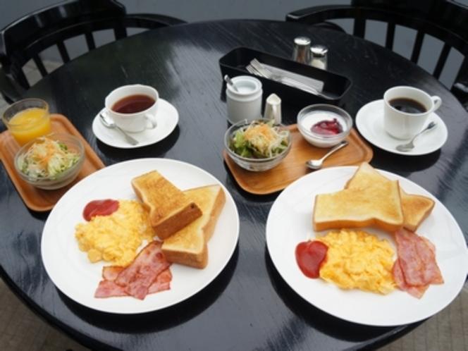 ゆっくりの朝、ゆっくりの朝食♪