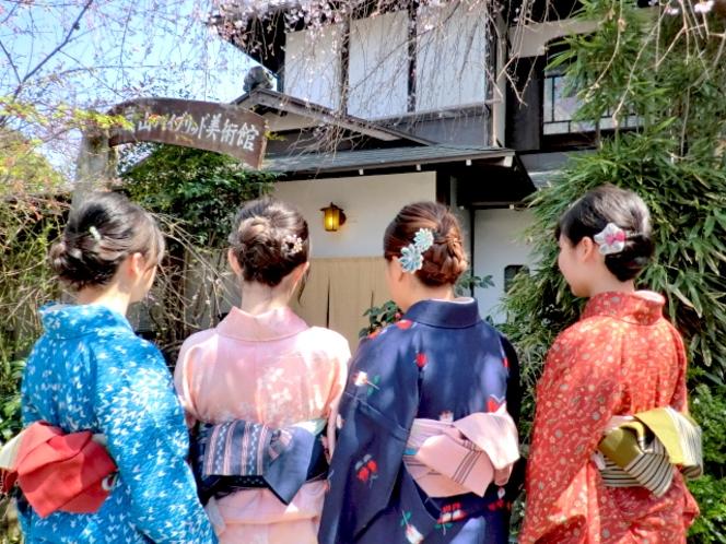 嵐山レンタル着物で家族や友人と旅出ましょう♪♪
