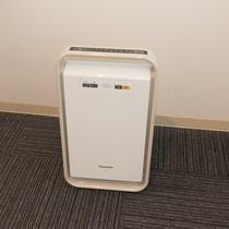 全室空気清浄器設置しております。