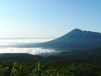 八幡平アスピーテラインから見る岩手山