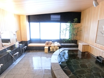 チェックイン場所(野上本館)の女性用浴場
