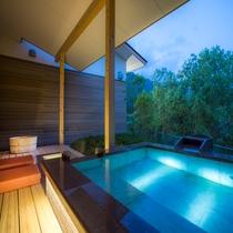 お部屋の露天風呂&足湯5