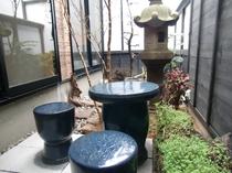 「さくら」の間 中庭