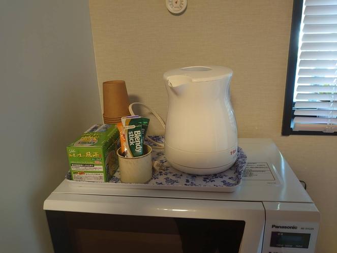 電気ポット、コーヒー&お茶