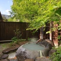 【露天風呂・お釜の湯】蔵王の自然を楽しみながら名湯・蔵王温泉を源泉かけ流しで