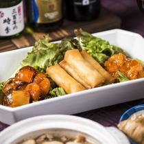 【夕食例/おばんざいバイキング】温かい料理を温かい内にお召し上がりいただければ身も心も温かくなります
