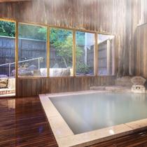 【大浴場】歴史ある老舗旅館の風呂で贅沢な湯浴みを