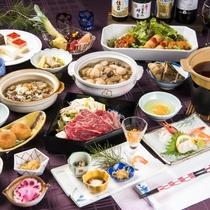 「食を嗜む」旬の食材をふんだんに使った料理の数々に舌鼓