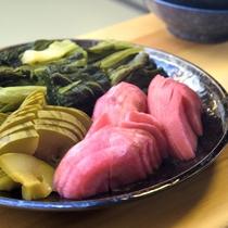 【夕食例/おばんざいバイキング】山形といえば赤かぶや青菜などの「漬物」も名物